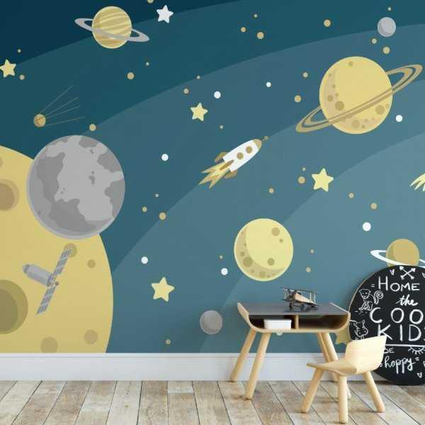 Tapeta dziecięca - ULTRA SPACE