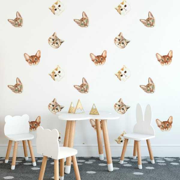 Tapeta dziecięca - CUTE CATS