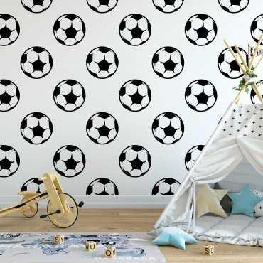 Tapeta dziecięca - FOOTBALL ART