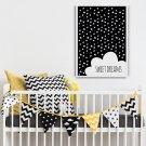 SWEET DREAMS - Plakat designerski dla dzieci
