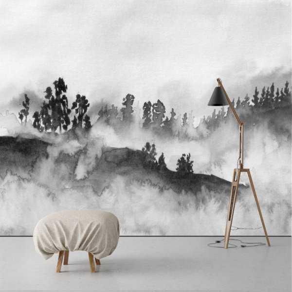 Tapeta na ścianę - ARTISTIC LANDSCAPE