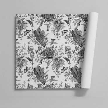 Tapeta na ścianę - FLOWER GARDEN