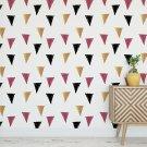 Tapeta na ścianę - FRUITY TRIANGLES