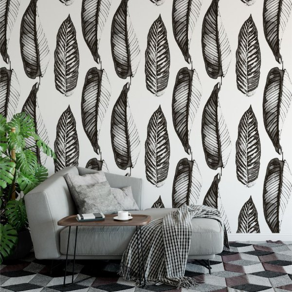 Tapeta na ścianę - GIANT LEAVES