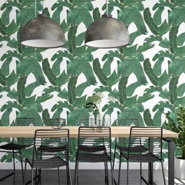Tapeta na ścianę - JUICY LEAVES