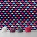 Tapeta na ścianę - LIQUID TRIANGLE