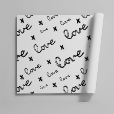 Tapeta na ścianę - LOVE ART