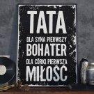 TATA, bohater i miłość - Plakat w ramie