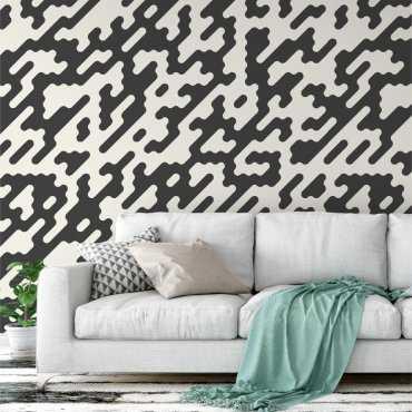 Tapeta na ścianę - MOSAIC MAZE