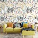 Tapeta na ścianę - RAINBOW GARDEN