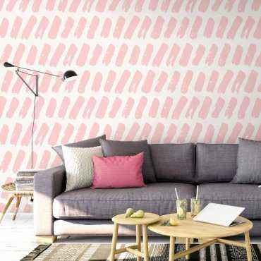 Tapeta na ścianę - PINKMARKS