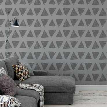 Tapeta na ścianę - SHADOW TRIANGLEFIELD