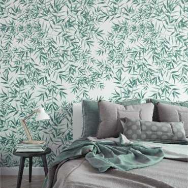 Tapeta na ścianę - SOFT GREEN