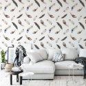 Tapeta na ścianę - SOFT FEATHERS DESIGN