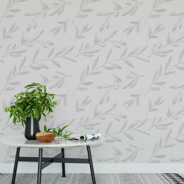 Tapeta na ścianę - SOFT PLANTS