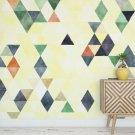 Tapeta na ścianę - SUNNY TRIANGLE ART