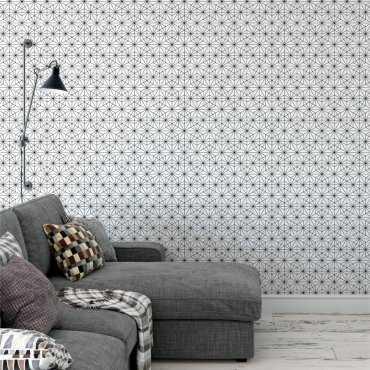 Tapeta na ścianę - TRIANGULAR STARS