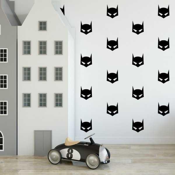 Naklejki ścienne - BATMAN (25szt. w zestawie)
