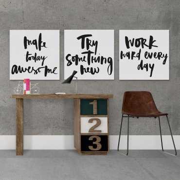 MOTYWACJA - Komplet trzech obrazów