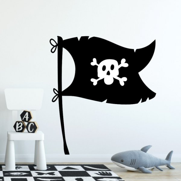Naklejka na ścianę - Pirate Design