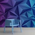BLUE POWER - Tapeta designerska