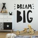 Naklejka na ścianę - DREAM BIG