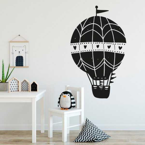 Naklejka na ścianę - LOVELY BALLOON