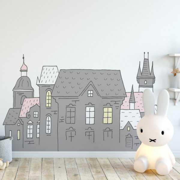 Naklejka na ścianę - LOVELY KINGDOM