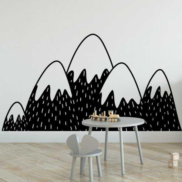 Naklejka na ścianę - SCANDI MOUNTAINS