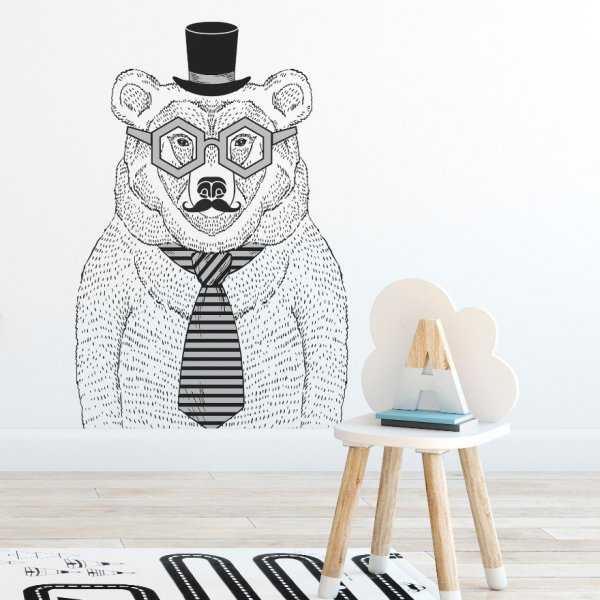 Naklejka na ścianę - BIG BEAR