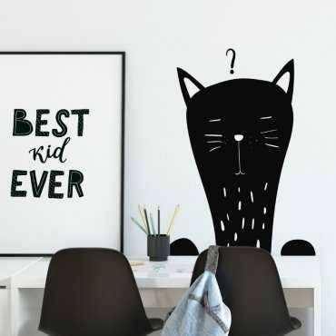 Naklejka na ścianę - SLEEPY CAT