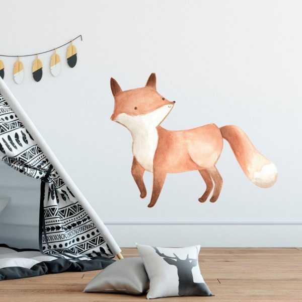 Naklejka na ścianę - LOVELY FOX