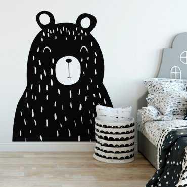 Naklejka na ścianę - BEAR BOSS