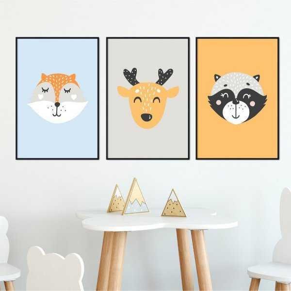 Zestaw plakatów dziecięcych - FRIENDS OF MINE