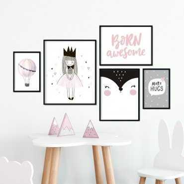Galeryjka plakatów - PRINCESS WALL