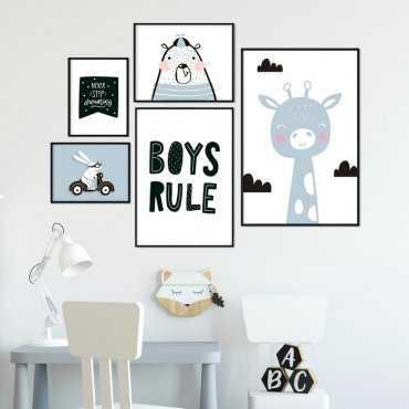 Galeryjka plakatów - BOYS ART