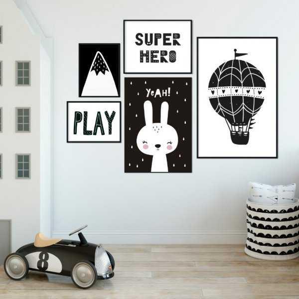 Galeryjka plakatów - SCANDI MINIMALISM
