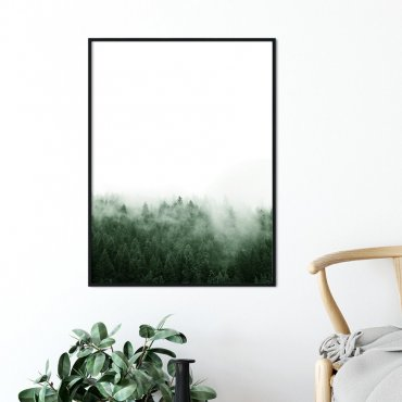 Plakat w ramie - RISING FOREST
