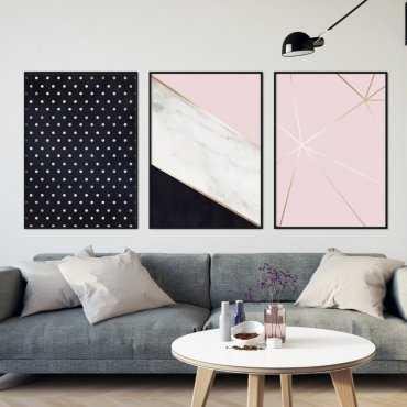 Zestaw trzech plakatów - DESIGN TRIO