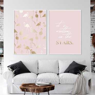Zestaw dwóch plakatów - IT'S WRITTEN IN THE STARS