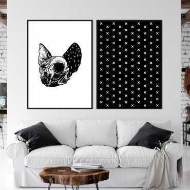 Zestaw dwóch plakatów - ROCK CAT