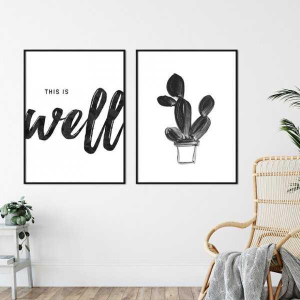 Zestaw dwóch plakatów - THIS IS WELL