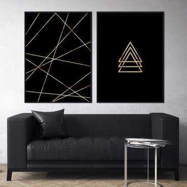 Zestaw dwóch plakatów - NIGHT MODERNITY