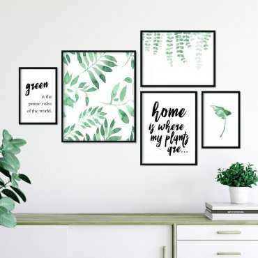 Galeryjka plakatów - HOUSE OF PLANTS