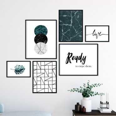 Galeryjka plakatów - READY TO CARPE DIEM