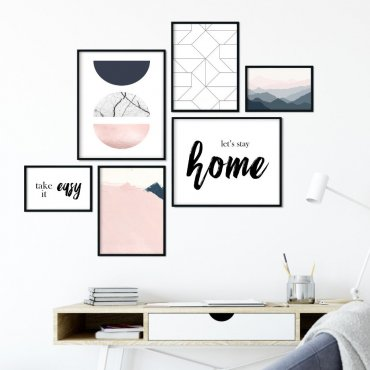 Galeryjka plakatów - PINK-BLUE DESIGN