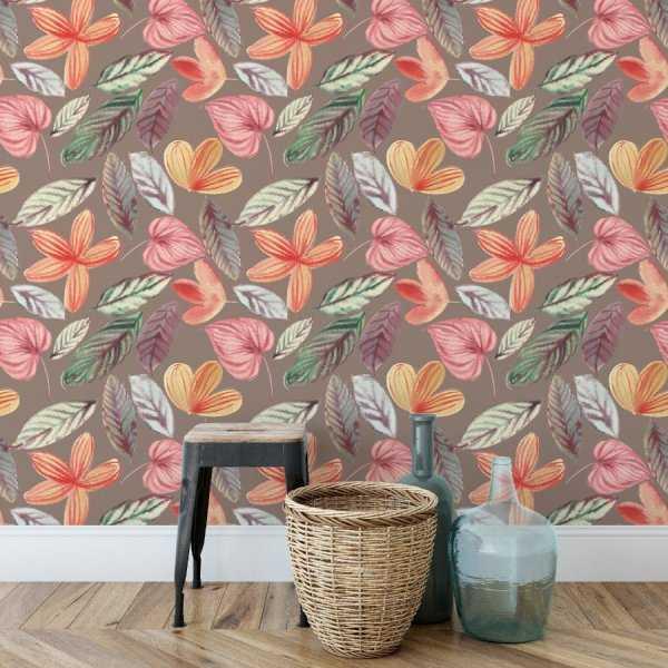 Tapeta na ścianę - COSY FLOWERS