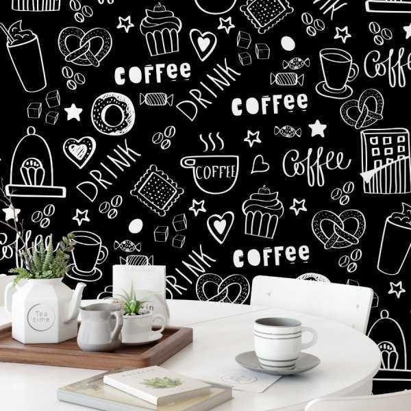Tapeta na ścianę - COFFEEWORLD