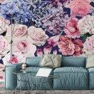 Tapeta na ścianę - CROWDED FLORA
