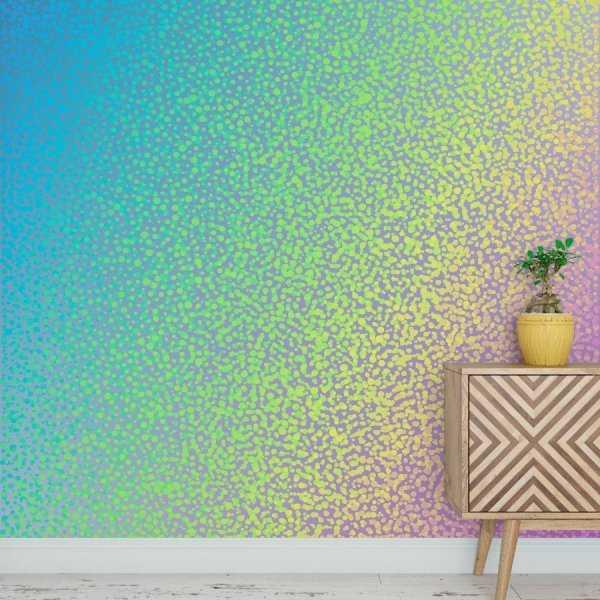 Tapeta na ścianę - GLITTER RAINBOW